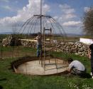 Konstrukce meditační kaple